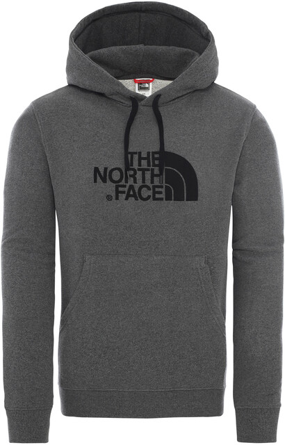 The North Face Light Drew Peak Kapuzenpullover Herren tnf medium grey heathertnf black